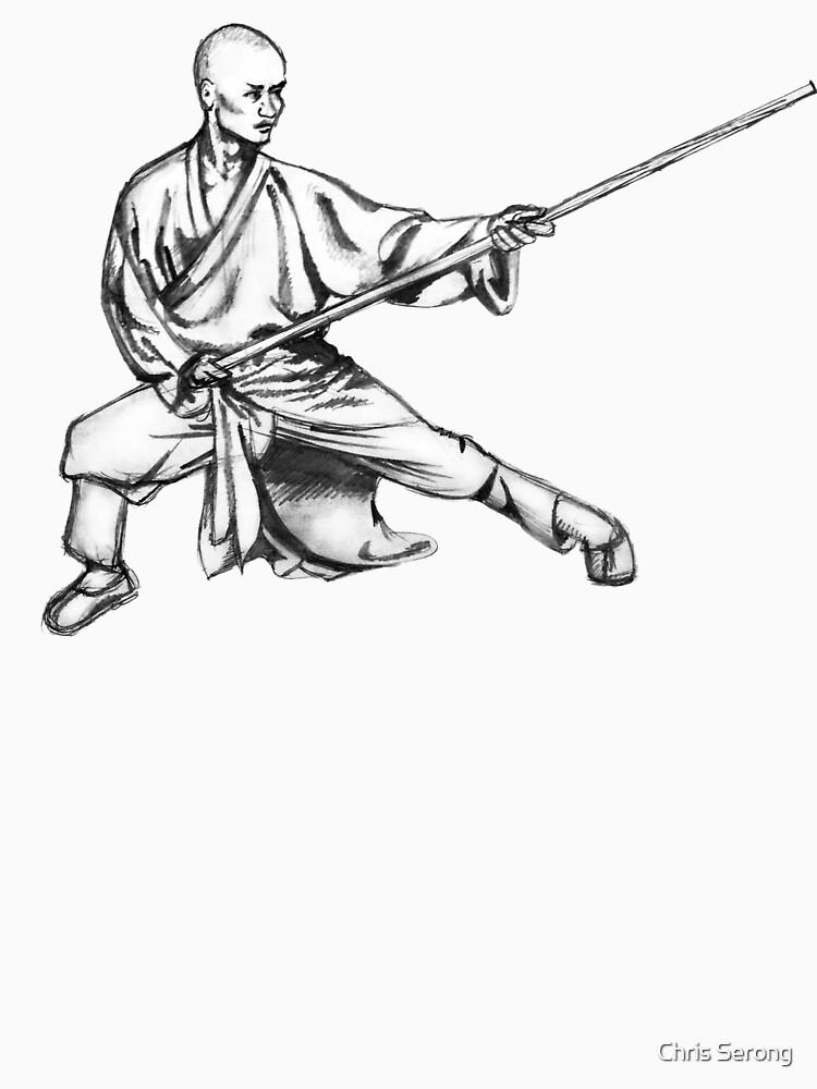 Shaolin Warrior Monk (Kung Fu / Wushu) by ChrisSerong