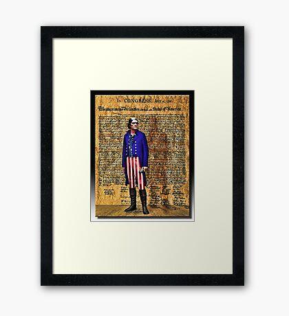 Jefferson Framed Print