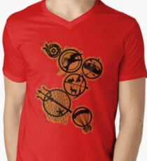 Tribute Pins Men's V-Neck T-Shirt