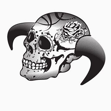 Vector Skull by bettypearl