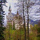 Germany, Castle Ludwig II, Füssen, 1869 by Daidalos