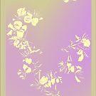 Sereen Abstract flower_02 by Yvon van der Wijk