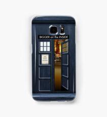 Bigger on the inside Samsung Galaxy Case/Skin