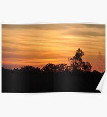 Kingaroy Sunset Poster
