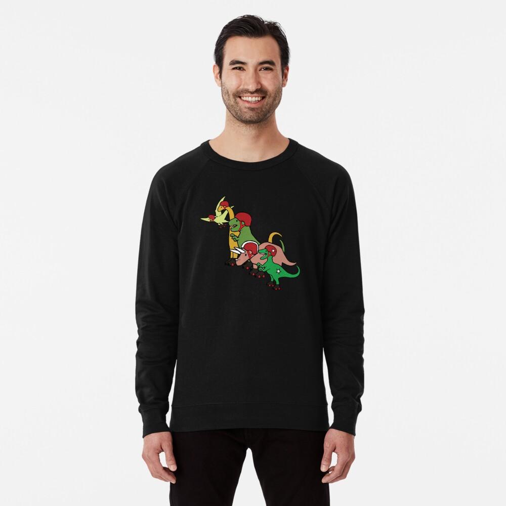 Roller Derby Dinosaurs Sudadera ligera