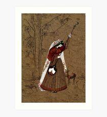 Mughal Miniature Art Print