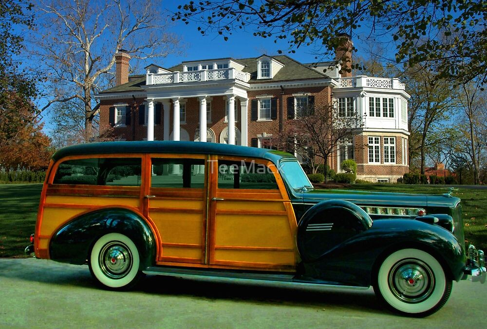 """1940 Packard Cantrell """"Woody"""" Station wagon by TeeMack"""