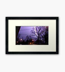 Storm 004 Framed Print