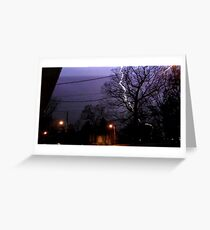 Storm 006 Greeting Card
