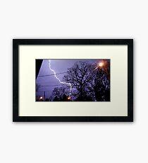 Storm 010 Framed Print