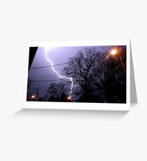 Storm 011 Greeting Card
