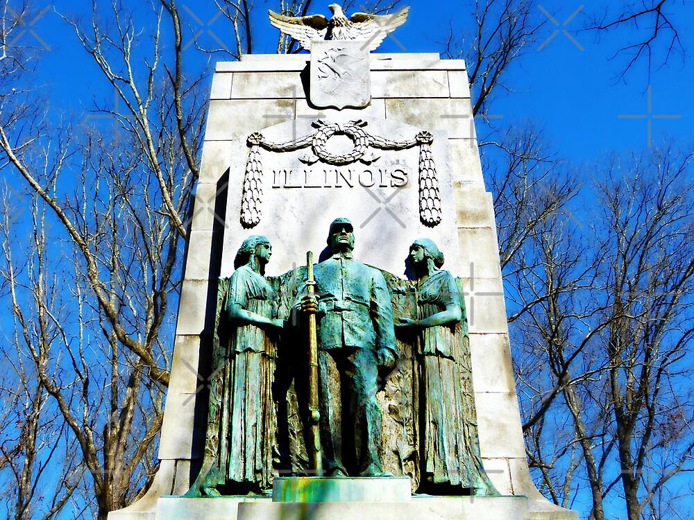 The Illinois Monument, Kennesaw Mountain National Battlefield Park, Marietta, Georgia by Scott Mitchell