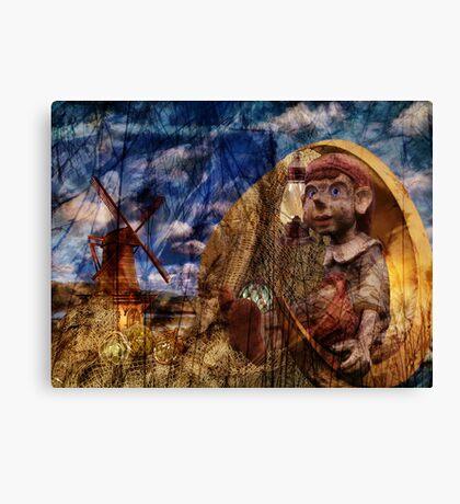 Dream Weaving Canvas Print