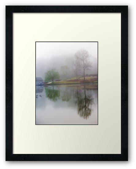 Foggy Morning Scene by Jim Haley