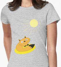 Sunbeam Attack Womens Fitted T-Shirt