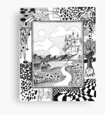 Fantasy Land Surrealism Canvas Print