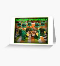 Happy Saint Patrick's Day Greeting Card