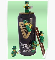 Guinness Makes A St Patricks Day ! Poster