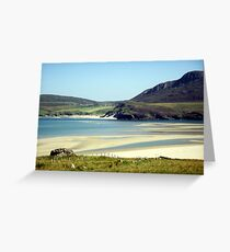 Melness Sands, Sutherland, Scotland Greeting Card