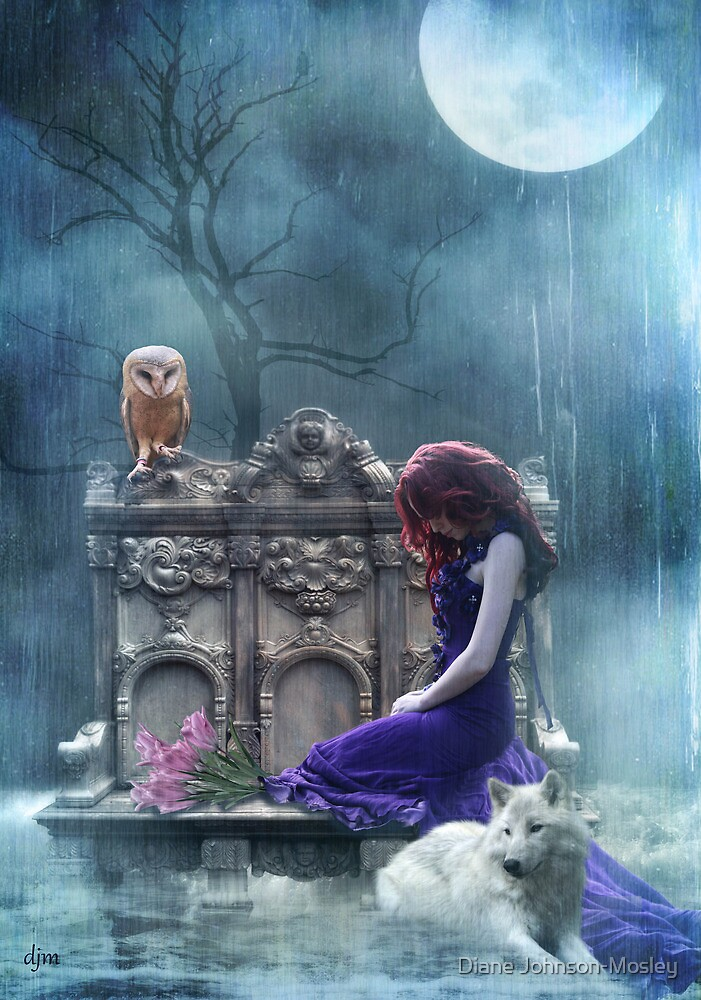 When The Moon Cries  by Diane Johnson-Mosley