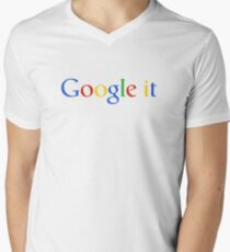 Google it Mens V-Neck T-Shirt