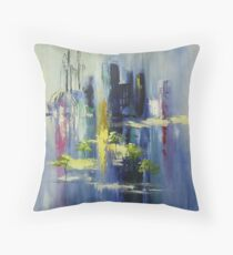 Paris Point of View Throw Pillow