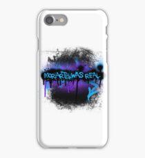 Moriarty was real (dusk) iPhone Case/Skin