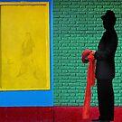 Man in Black by Peter Hammer