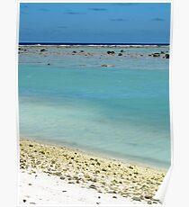 beach Rarotonga Poster