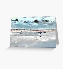 Surrealistic Seascape X Greeting Card