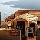 FRACTURED ENGLISH - SANTORINI, GREEK ISLANDS......! by Roy  Massicks