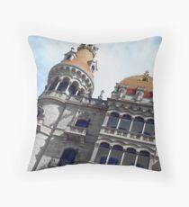 I Love Barcelona 2 Throw Pillow