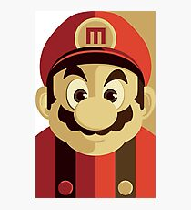 Mario Passport Snap Photographic Print