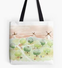 Napping Tote Bag