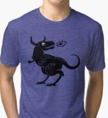 Fire Monster Tri-blend T-Shirt