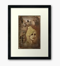 and so we travel Framed Print