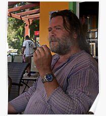 Portrait from Matala Beach . Kriti . Greece. by Doktor Faustus. Views 41 . Poster