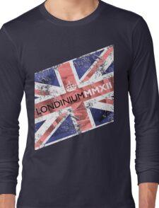 London 2012 - Londinium MMXII Union Jack Rose Long Sleeve T-Shirt