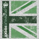 London 2012 - Londinium MMXII Union Jack Green by Lordy99
