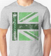 London 2012 - Londinium MMXII Union Jack Green T-Shirt