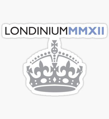 London 2012 - Londinium MMXII Large Crown Sticker