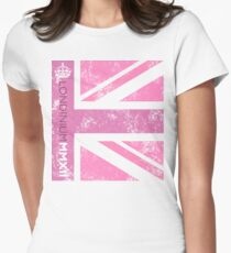 London 2012 - Londinium MMXII Union Jack Pink T-Shirt