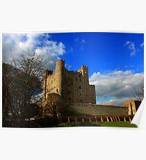 Rochester Castle (English Heritage) Poster