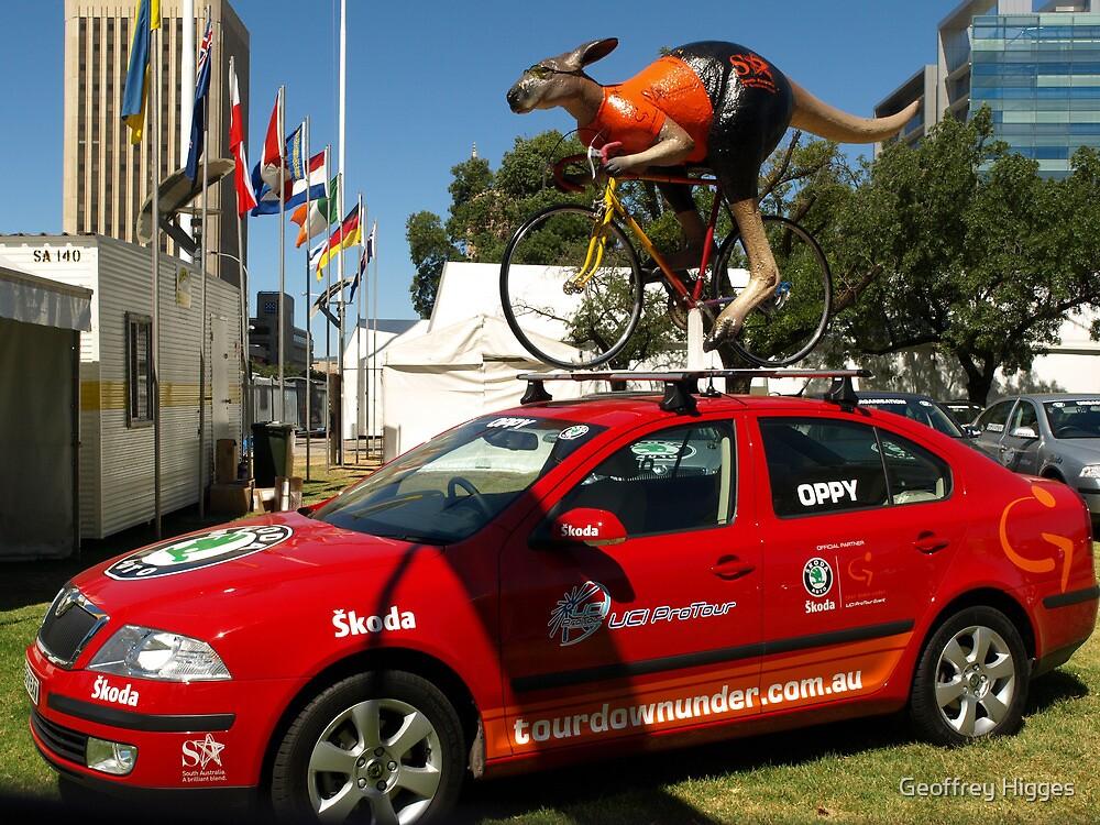 Tour Down Under - Ochre Jersey by Geoffrey Higges