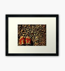 Shoes on the Rocks Framed Print