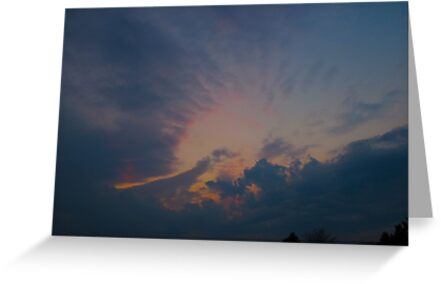 Halo sunset by MarianBendeth