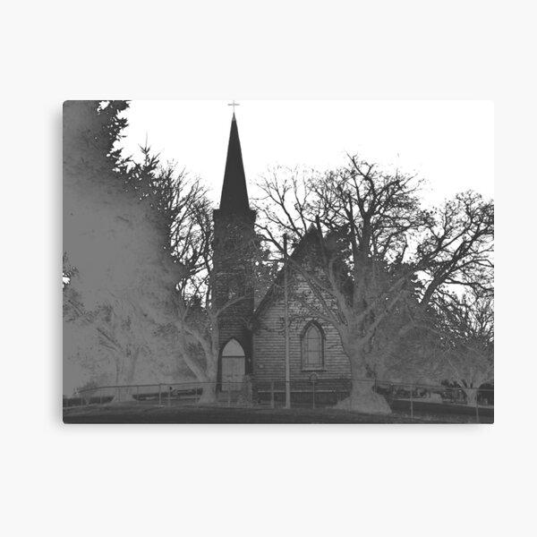 saint francis church (san juan island, wa) Canvas Print