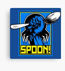 SPOON! Canvas Print