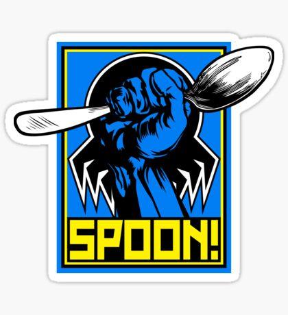 SPOON! Sticker