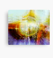 trying to center thoughts..... Canvas Print